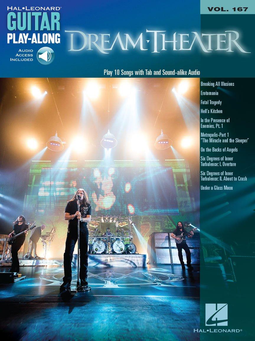 Dream Theater Guitar Play-Along Volume 167