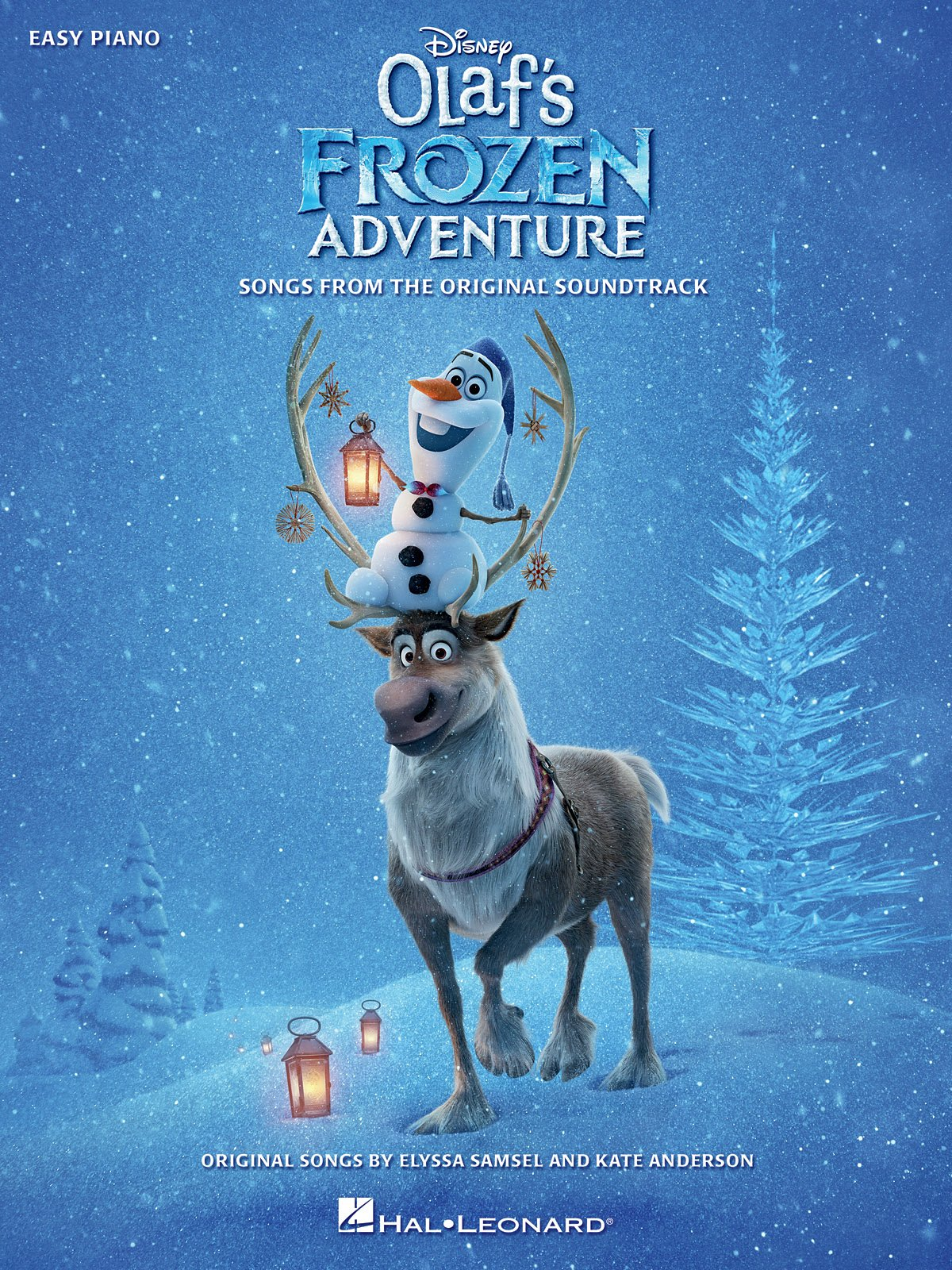 Disney's Olaf's Frozen Adventure - Piano Sheet Music