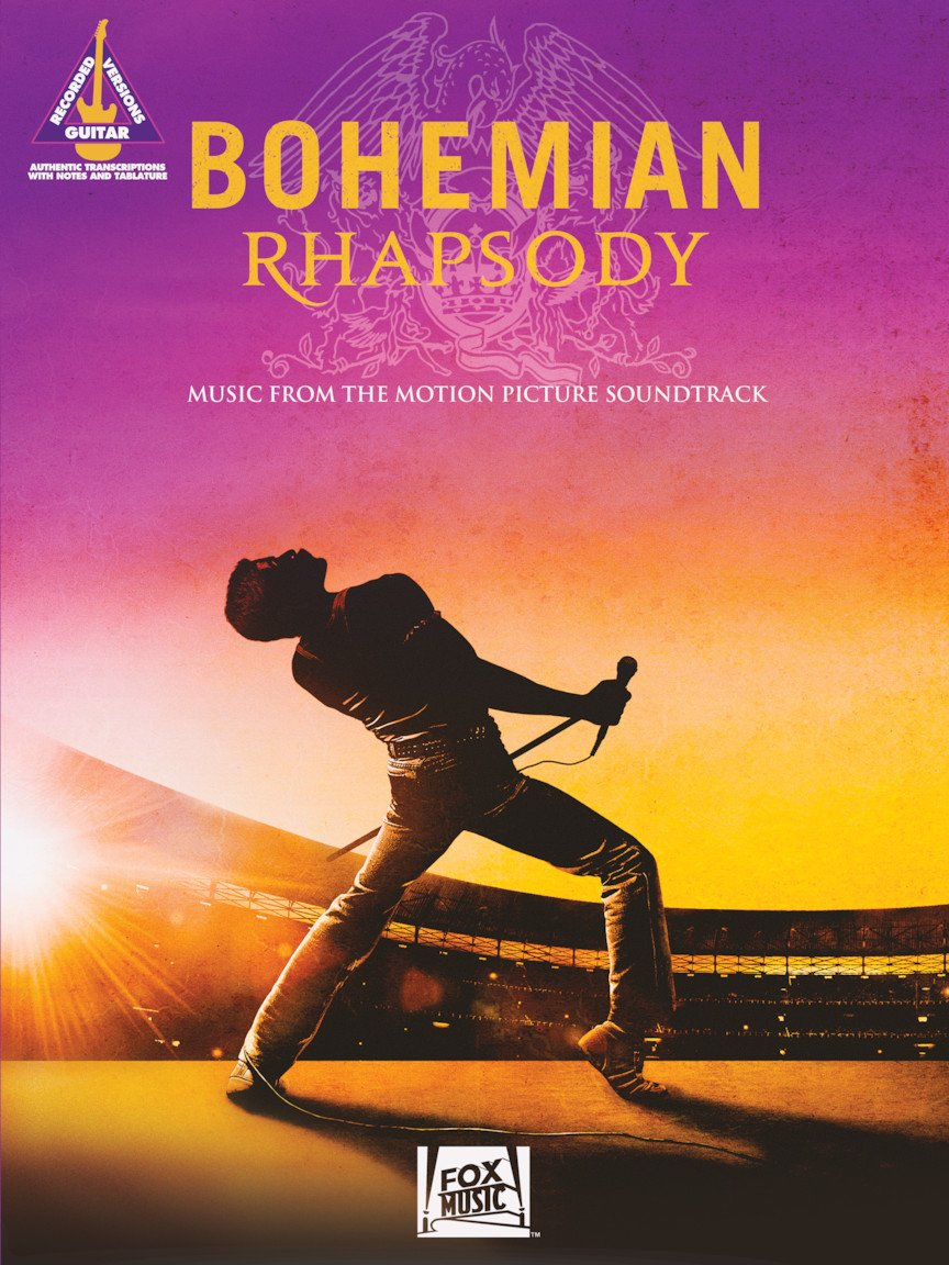 Bohemian Rhapsody (Queen)- Music From The Motion Picture - Guitar Tab Songbook