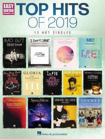 Top Hits of 2019 - 13 Hot Singles for Easy Guitar