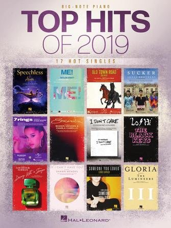 Top Hits of 2019 - 17 Songs for Big-Note Piano