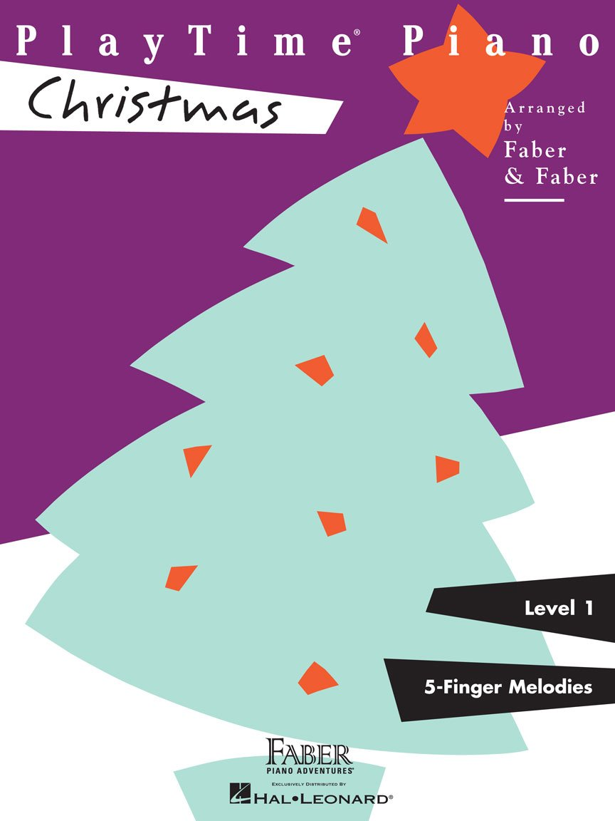 Faber PlayTime Piano - Christmas - Level 1 - 5-Finger Melodies