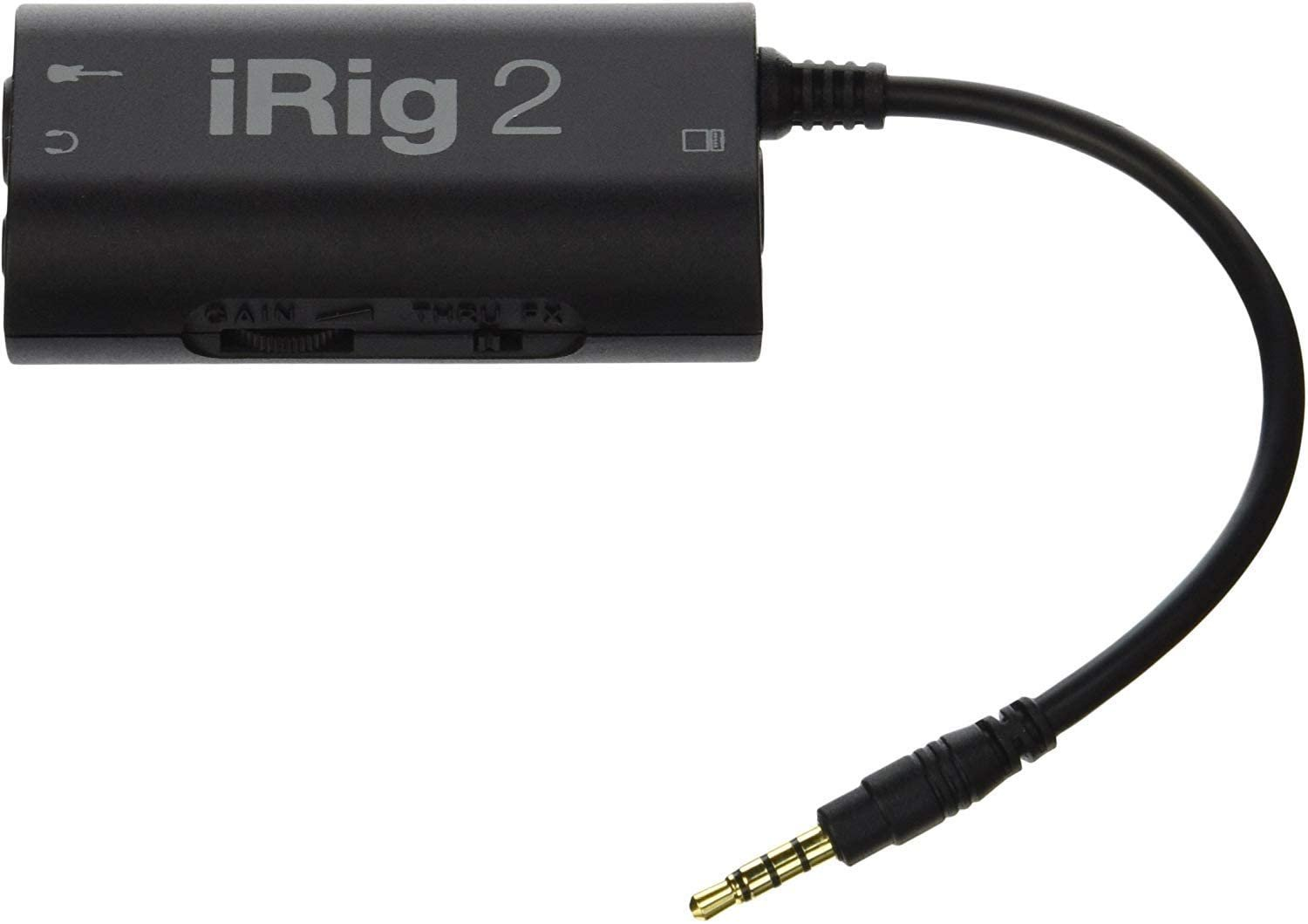 IK Multimedia iRig 2 Guitar Interface Adaptor for select Apple & Android Devices