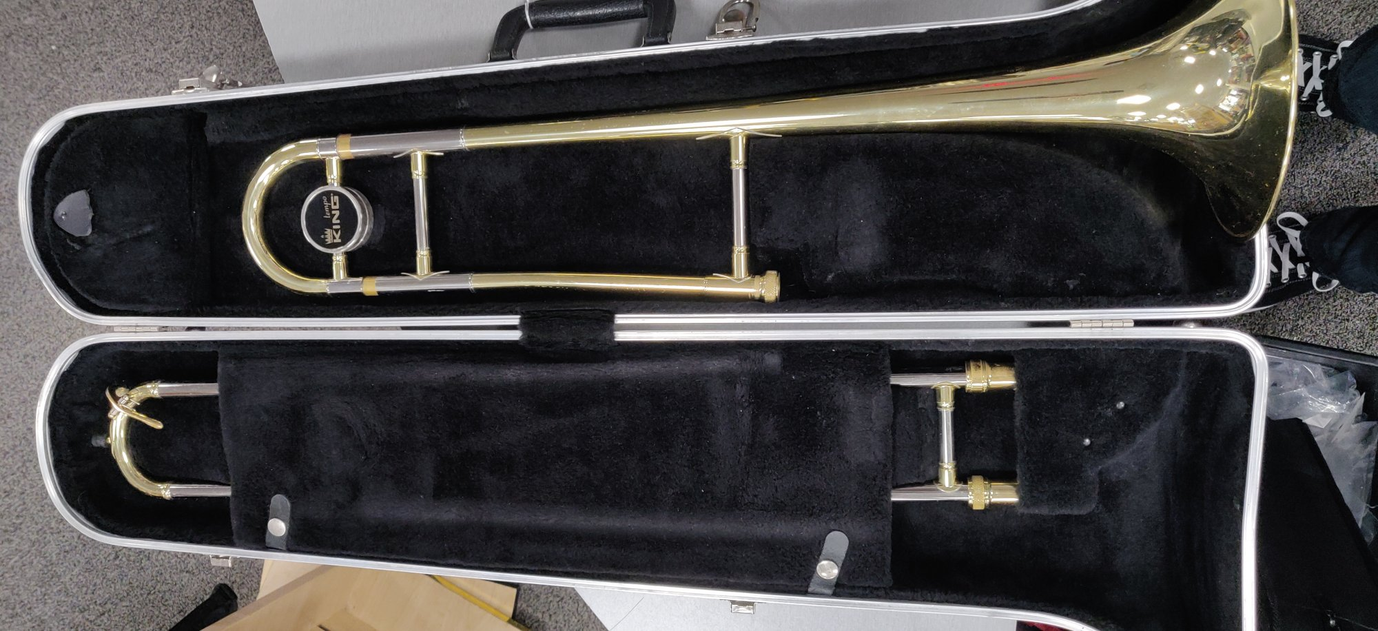 Used Trombone King Tempo 306