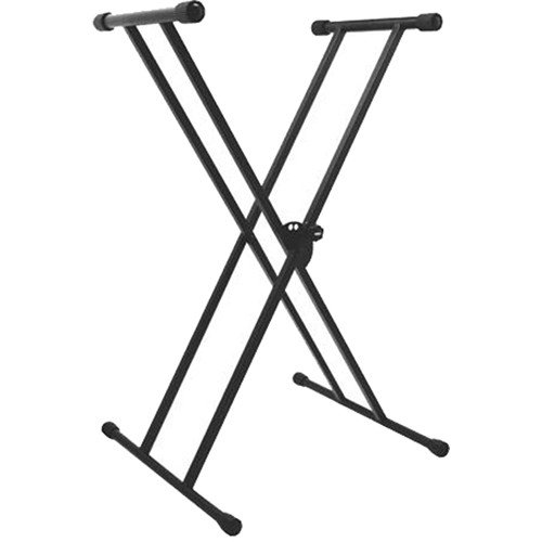 On Stage Collapsible Double Braced X Keyboard Stand