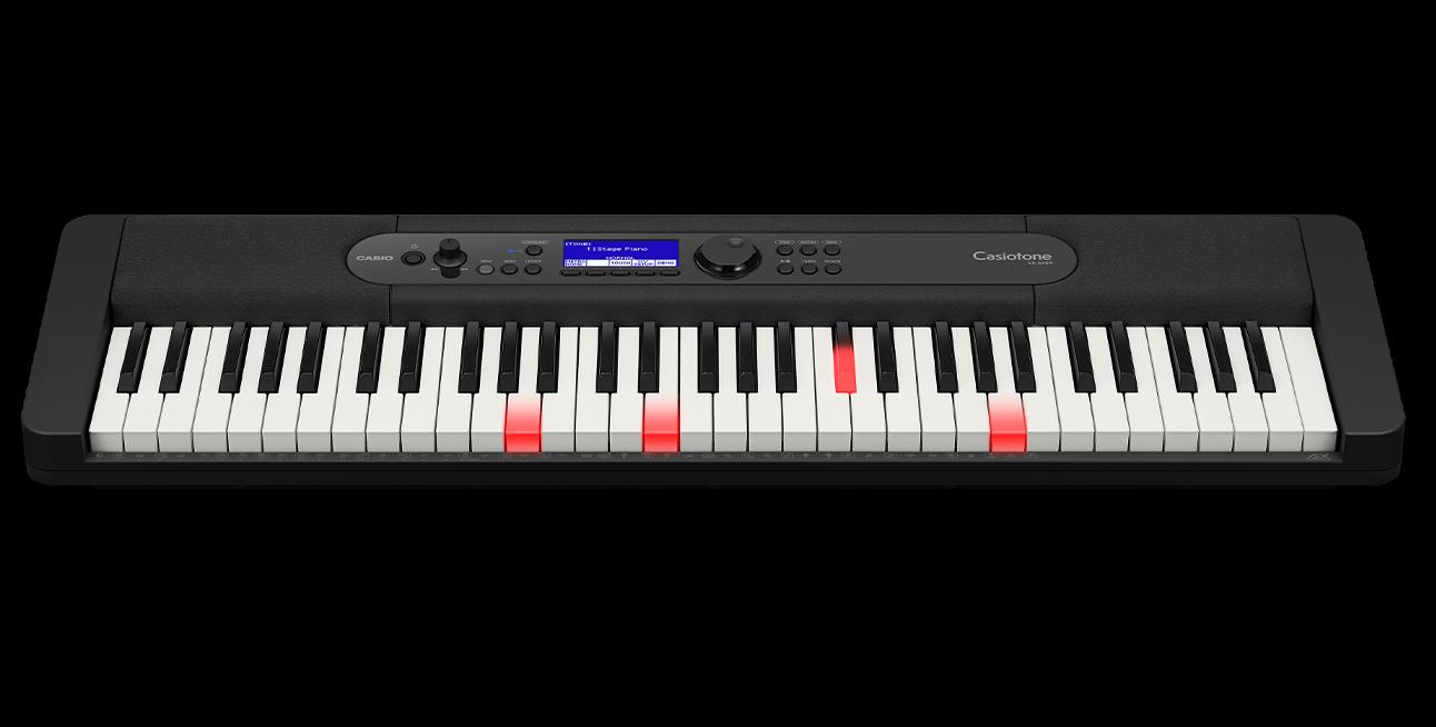 Casio LK-S450 61-Key Arranger Keyboard - Black
