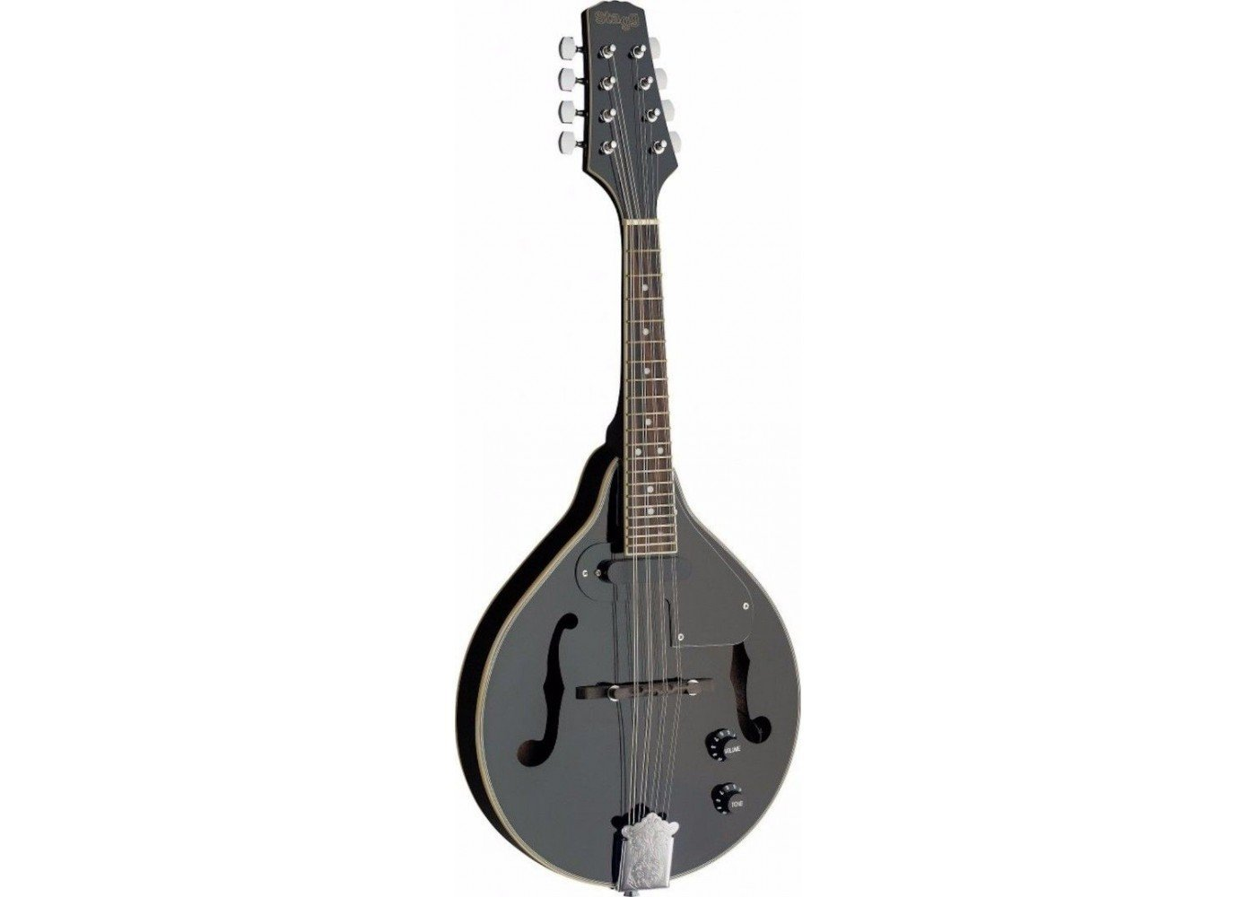 Stagg M50 E BLK Acoustic/Electric Black Bluegrass Mandolin