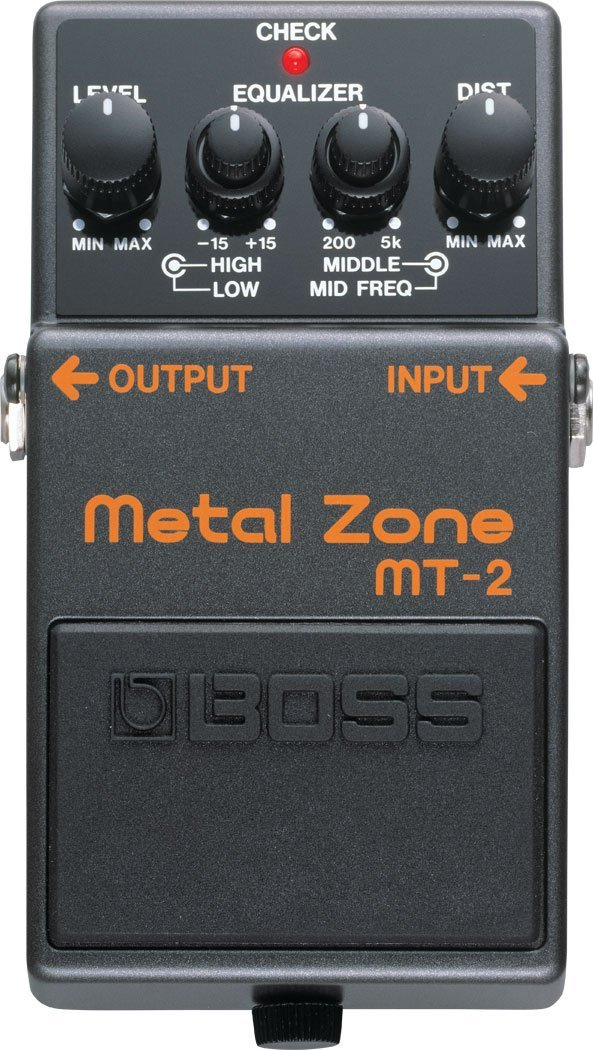 Boss MT-2 Metal Zone Distortion Effects Pedal