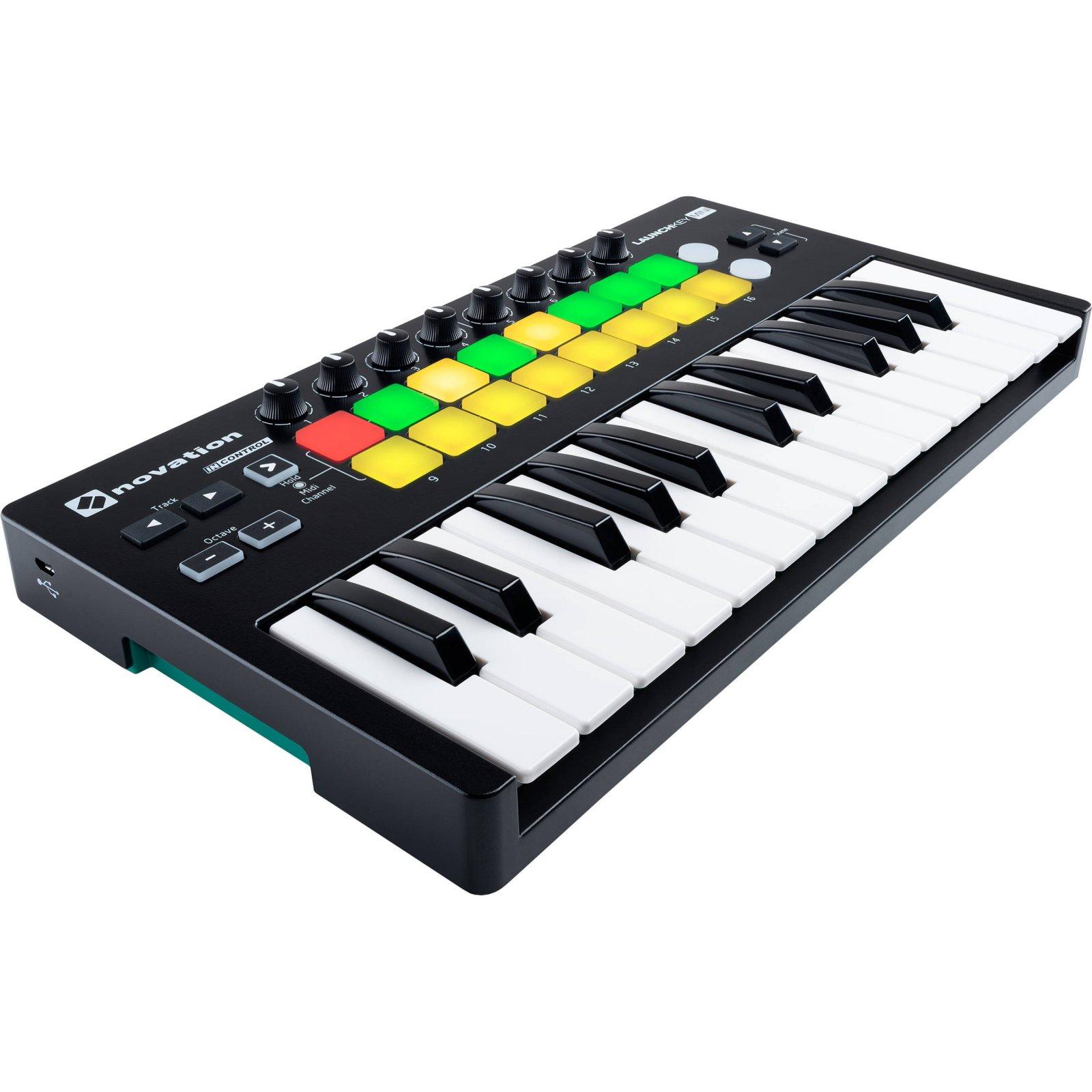Novation Launchkey MK2 Mini 25-Note USB Keyboard Controller