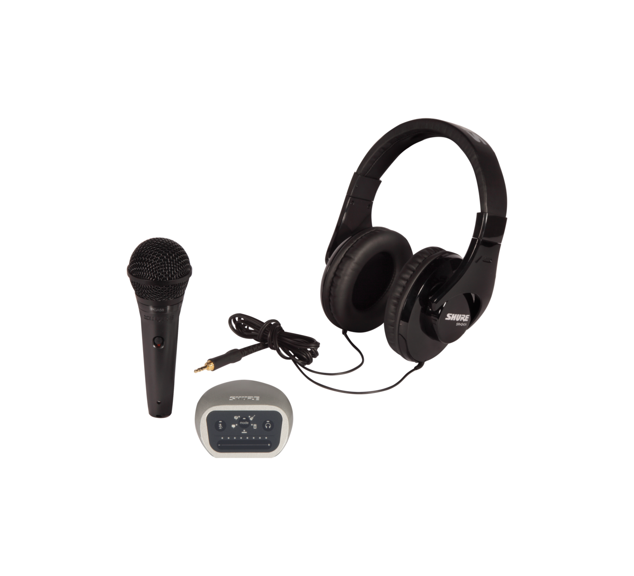 Shure PGA58 and MVi Complete Recording Bundle