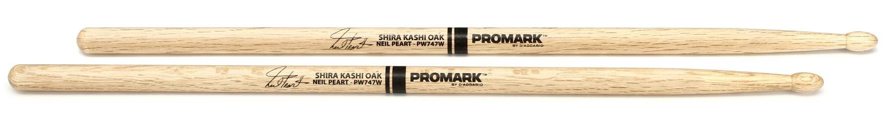 Promark Neil Peart PW747W Shira Kashi Oak