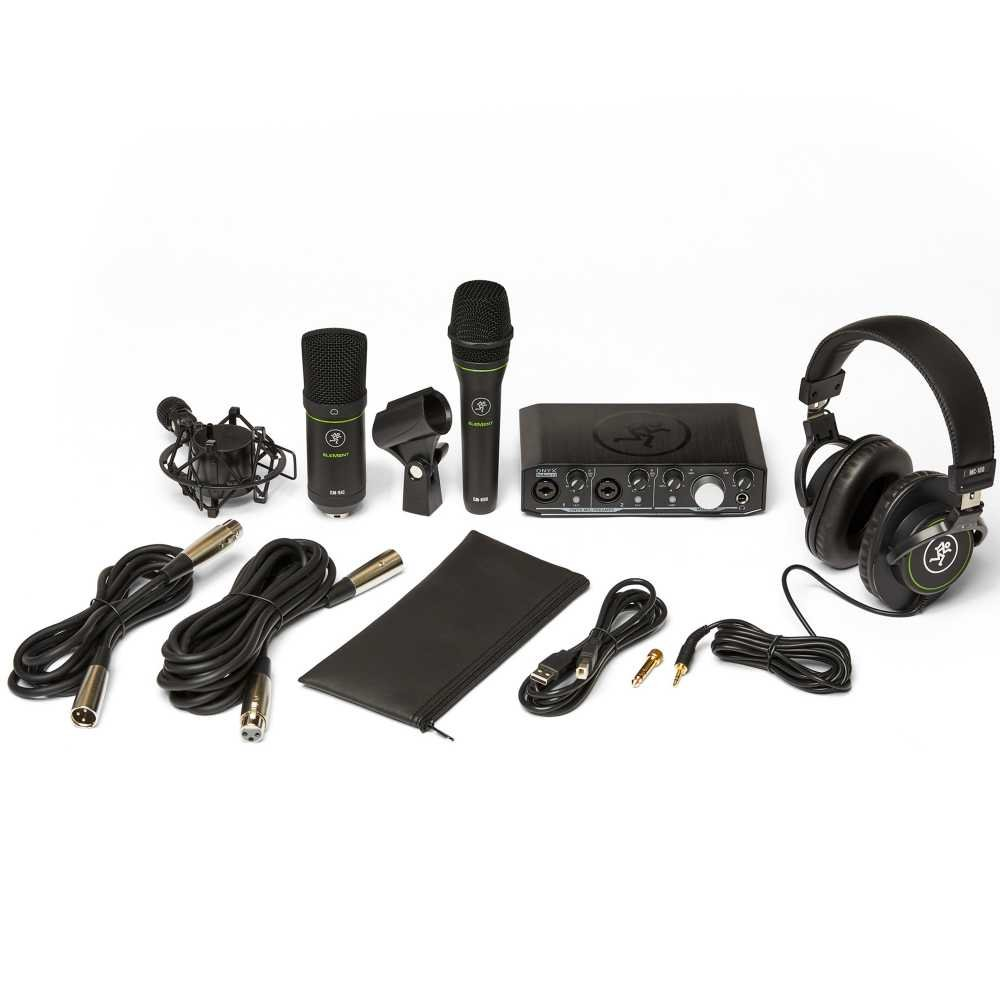 Mackie Producer Bundle - w/2 Microphones, Headphones, & Audio Interface
