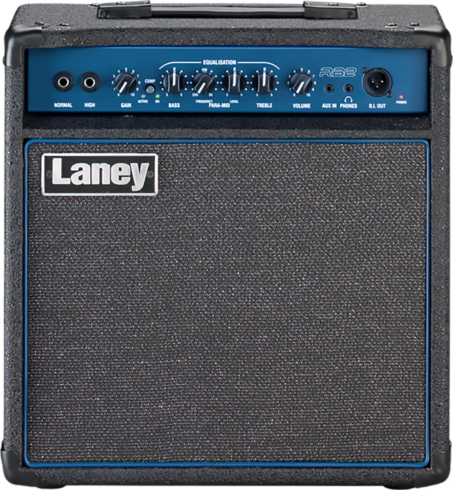 Laney Rb2 30W Bass Combo. 1X10 W/Compressor Black And Blue