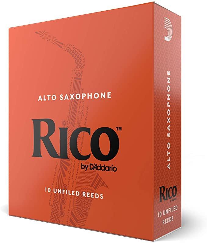 Rico Alto Sax 10 Pack Strength 2.5