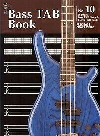 Koala Manuscript No 10 Bass Tab Lines& Blank Fret Manuscript