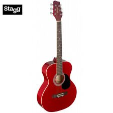 Stagg SA20ARED Auditorium Acoustic Guitar - Red