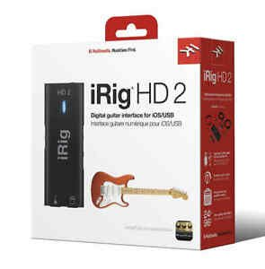 iRig HD 2 Digital Guitar Interface For Ios, Mac And Pc