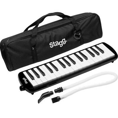 Stagg 32 Key Melodica - Black w/ bag