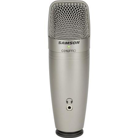 Samson C01U PRO USB Large Diaphragm Studio Condenser Microphone, 20-18000Hz Freq