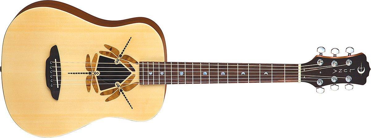 Luna Safari Dragonfly Travel Guitar w/Gigbag