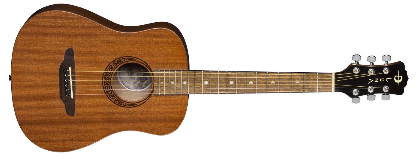 Luna Safari Muse Travel Guitar Mahogany w/Bag