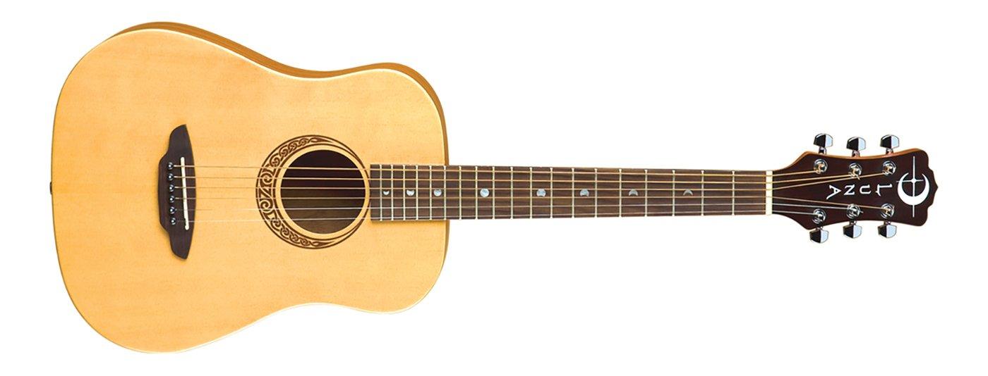 Luna Safari Muse Travel Guitar Spruce w/Bag