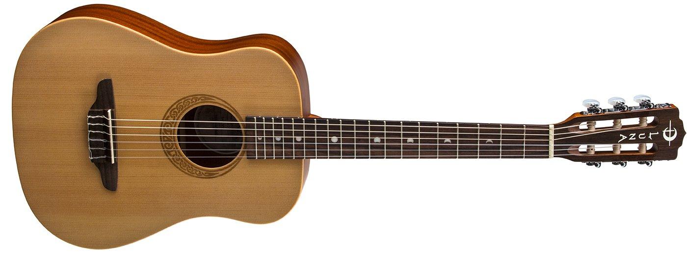 Luna Safari Nylon Travel Guitar w/ Gigbag