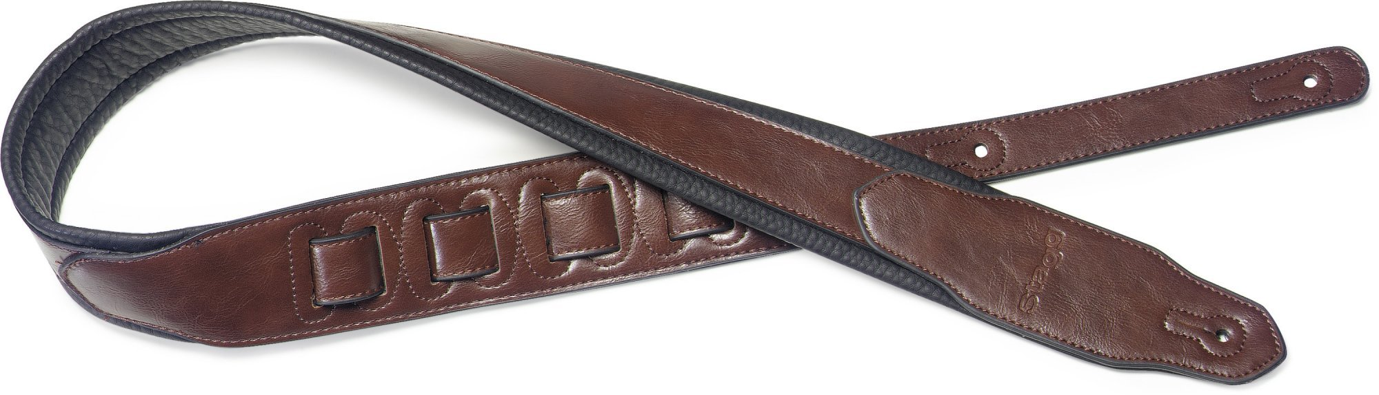 Stagg Leatherette Guitar Strap - Various Colors