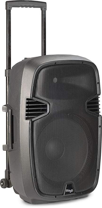 Stagg Re-volt15 15 Inch 2-way Active Trolley Speaker With Reverb