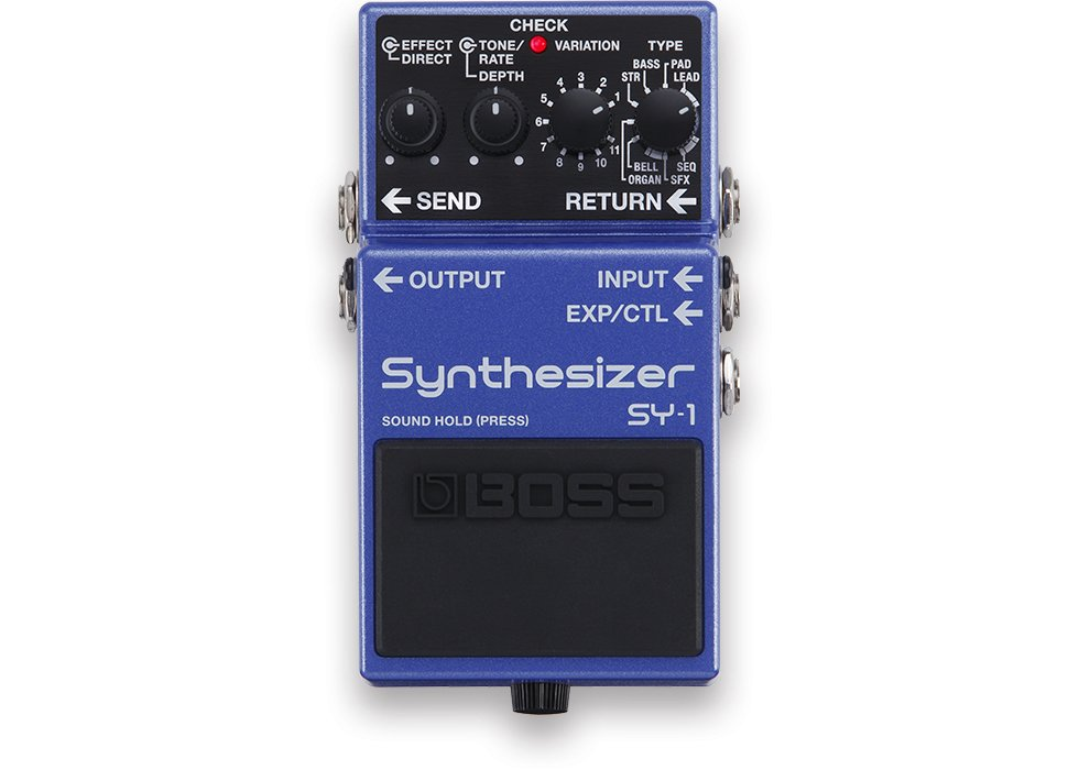 Boss SY-1 Synthesizer Guitar Effects Pedal