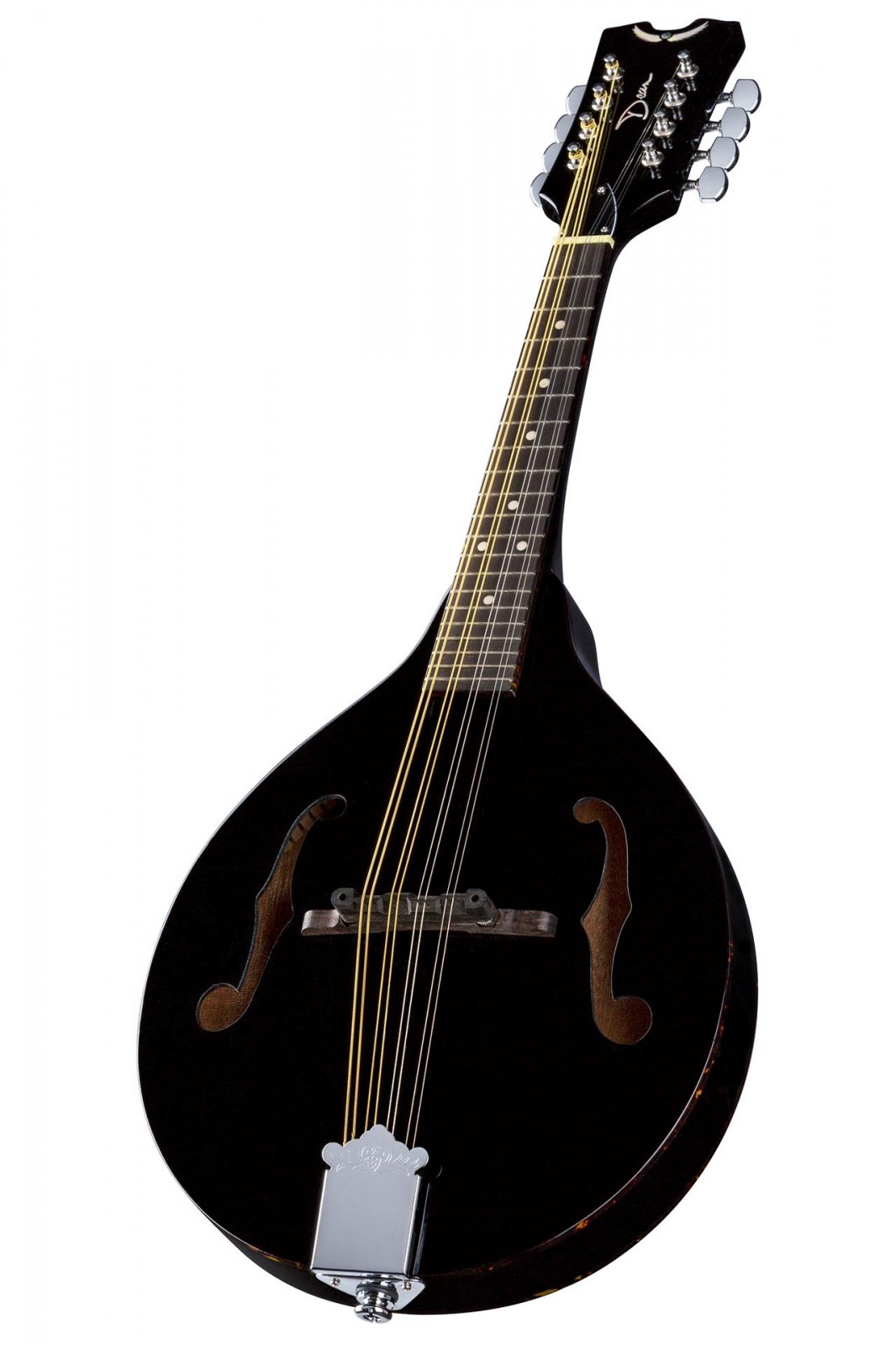 Dean DTAE Tennessee Mandolin in Classic Black