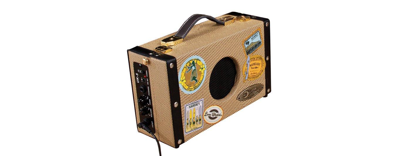 Luna Uke SA 5  Portable Suitcase Amp 5 Watt