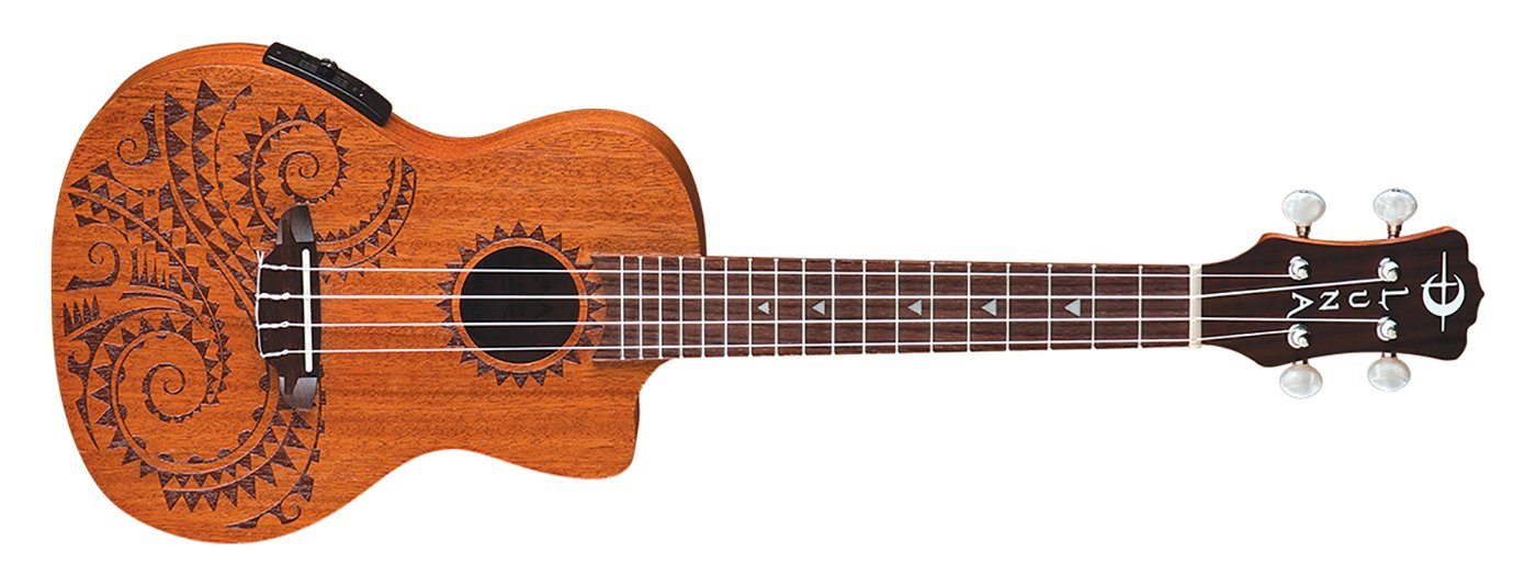 Luna Uke Bundle with Book and Picks and Lesson!
