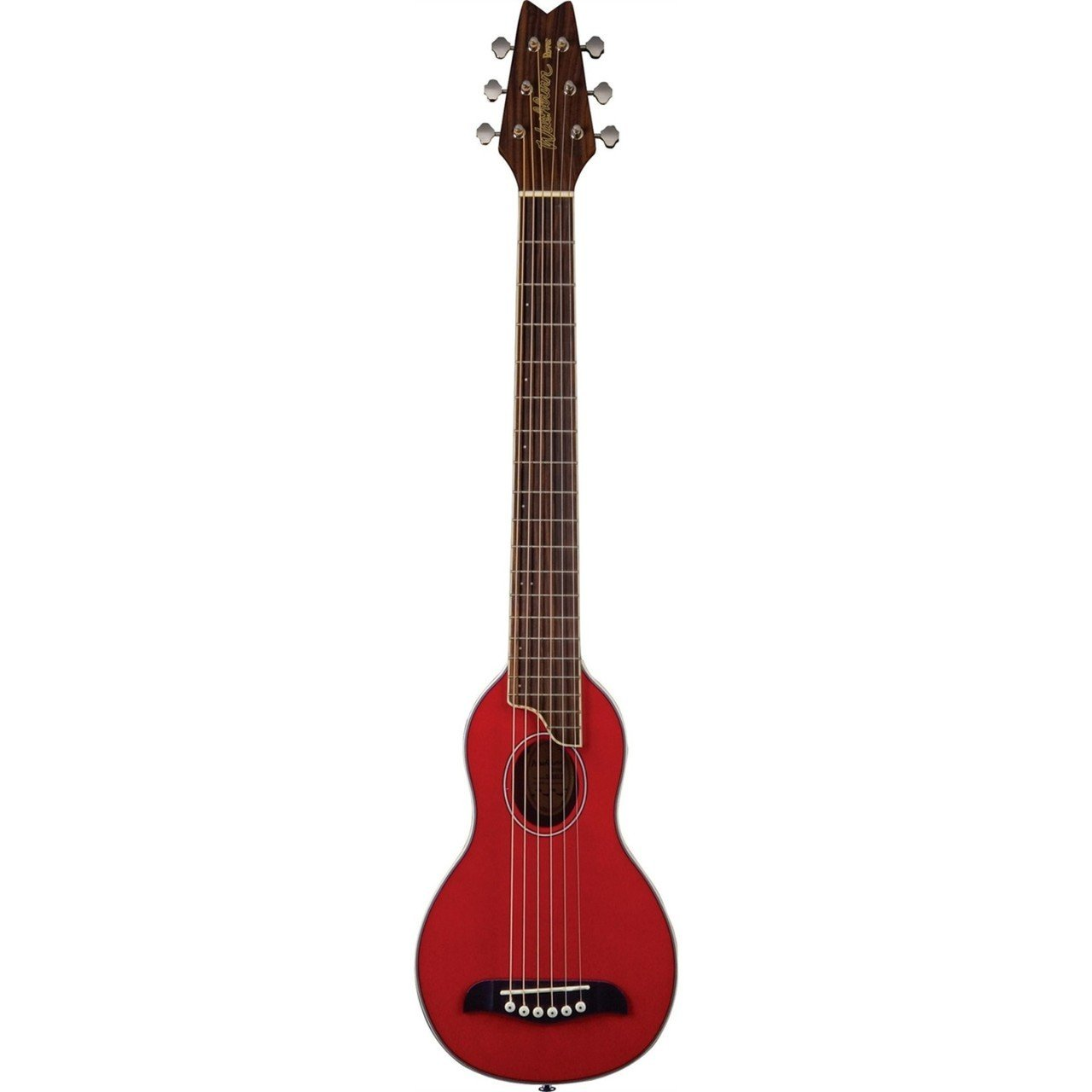 Washburn Rover Acoustic Guitar W/ Gig Bag, Red