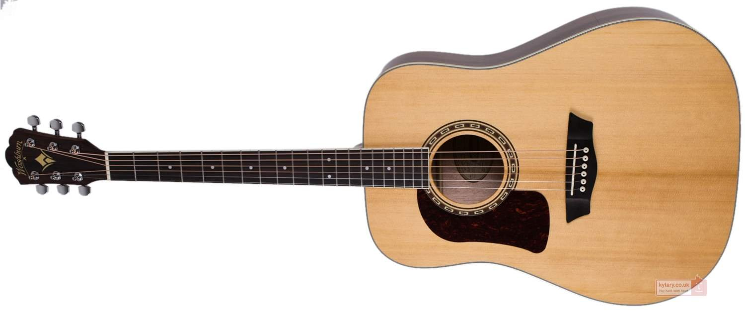 Washburn Heritage 10 Series HD10SLH Left Handed Acoustic Guitar