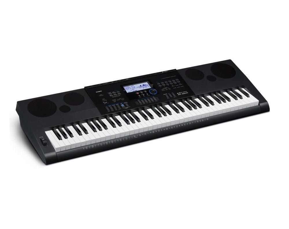 Casio WK-6600 Workstation Keyboard - 76 Key - 17 Track Recorder