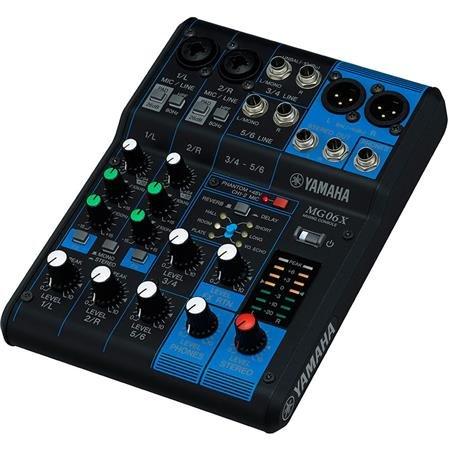 Yamaha MG06X 6-CH Mixing Console w/Digital FX