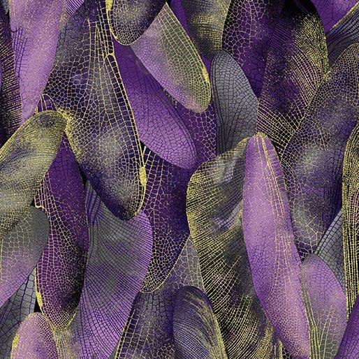 Gilded Wings Deep Purple