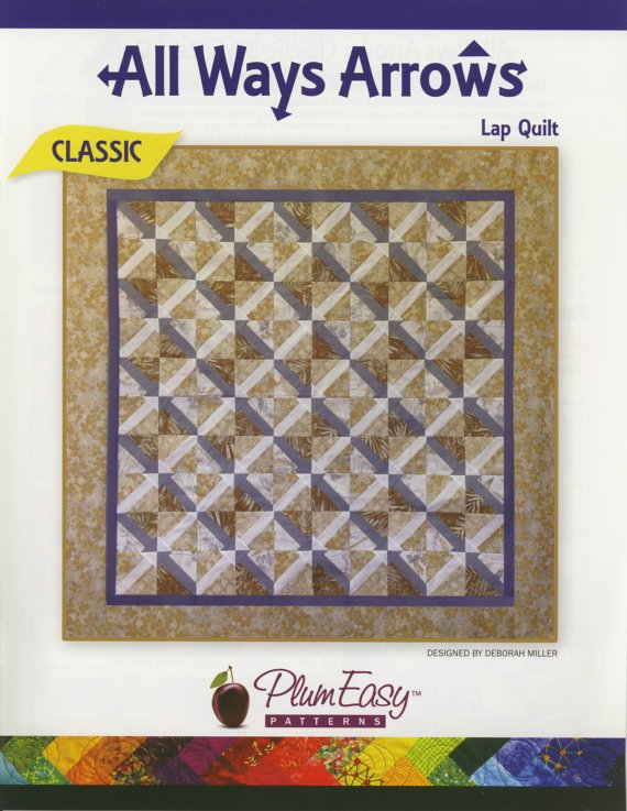 All Ways Arrows Lap Quilt by Plum Easy