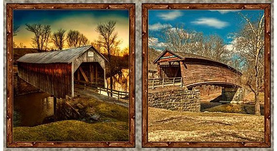 Covered Bridges By Larry Hersberger