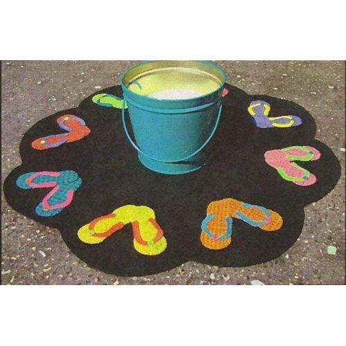 Flip Flop Table Mat by Primitive Gatherings