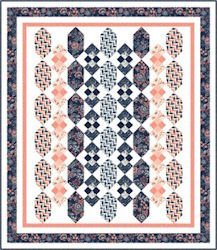 French Navy Quilt Kit