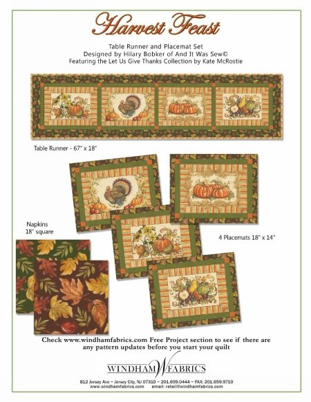 Harvest Feast 3 Projects!