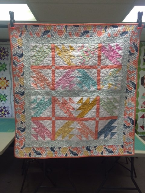 Early Bird Quilted Wallhanging