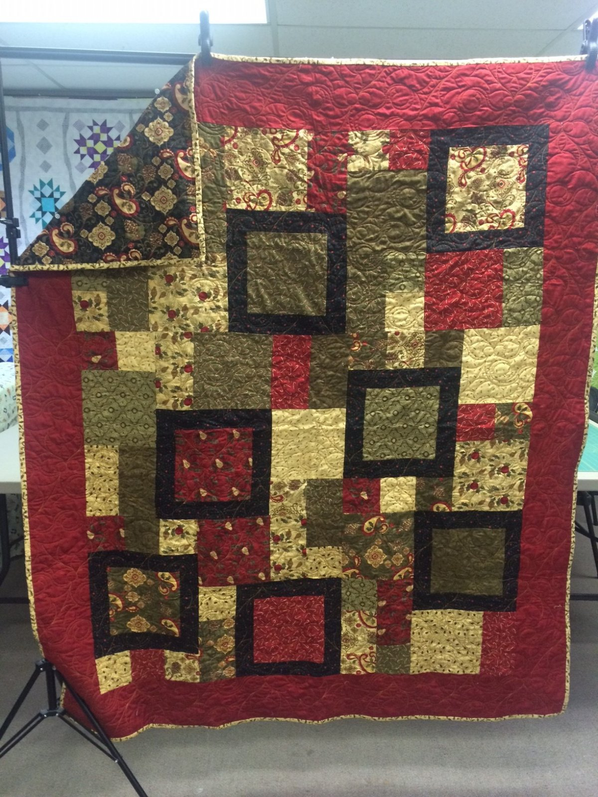 Perfect 10 Christmas Quilt