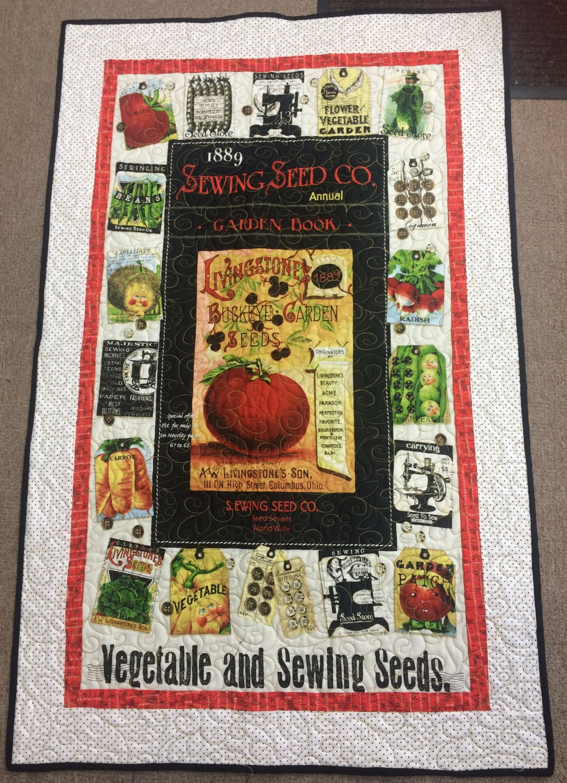 Vegetable wall hanging