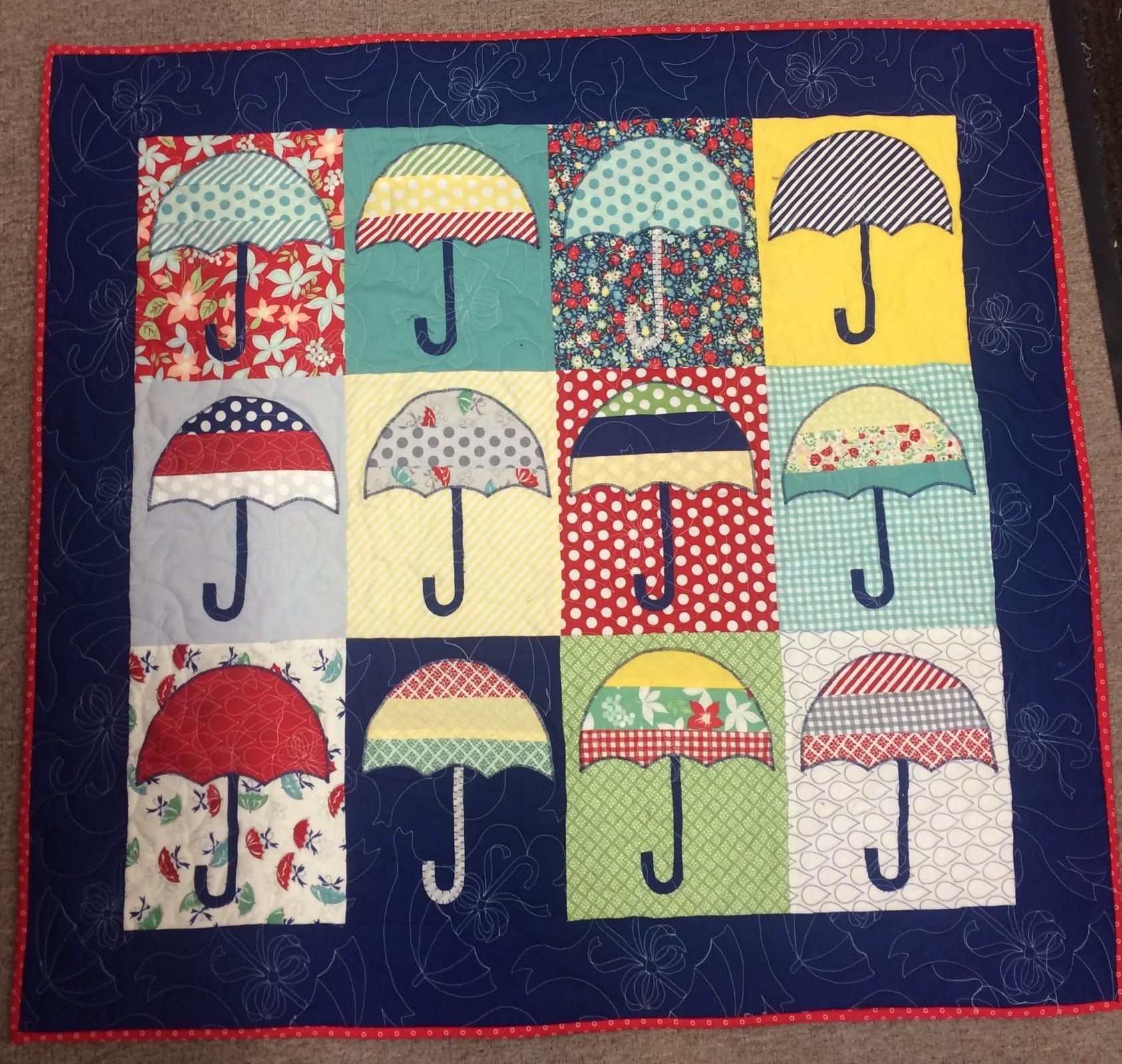 Umbrella Small quilt