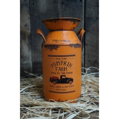 Pumpkin Milk Can 10