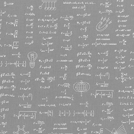 Grey Science Math Formulas
