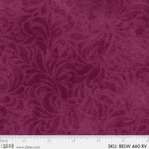 Bella Suede Widebacks red/purple